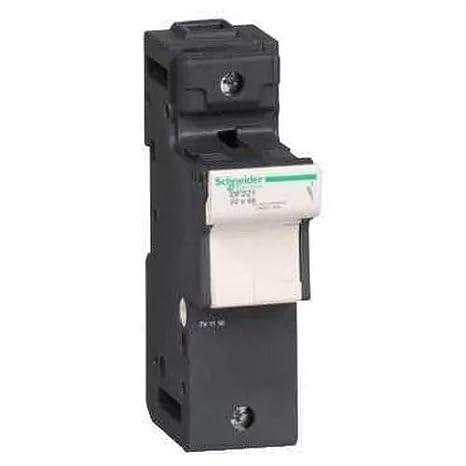 n 14/x 51/mm Fusible Schneider electric df143nc tesys seccionador Porte Fusible 3p 50/A