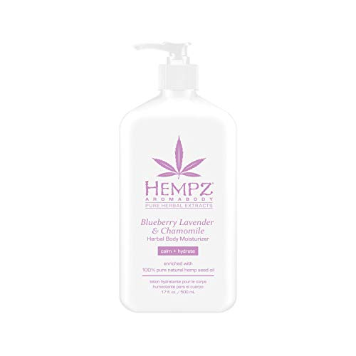 Blueberry Lavender & Chamomile Herbal Body Moisturizer, 17 Fl Oz, Pack of 1 ()