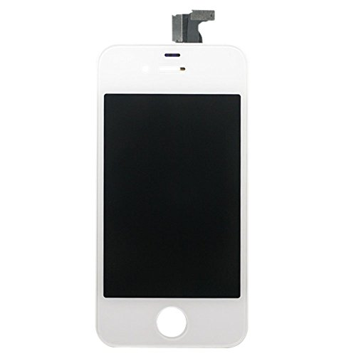 Touch Screen Digitizer Glass for iPhone 4 4G (White) - 2