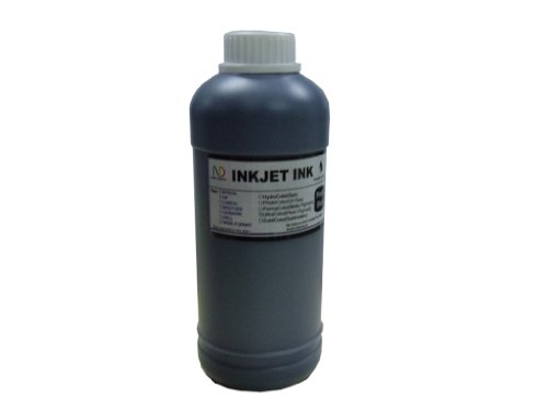 ND TM Brand Dinsink: 1 Pint Dye Black Refill Ink for HP Lexmark Dell Canon Brother Black Ink Cartridge and Continuous Ink Supply Systems (CISS) . The item with ND Logo! ()