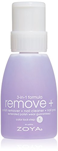 Nail Enamel Remover (ZOYA Remove Plus in Big Flipper Bottle, 8.0 fl. oz.)