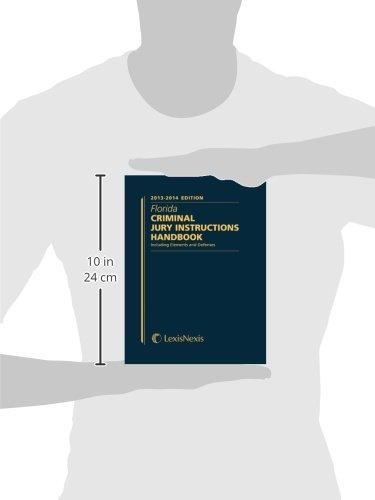 Florida Criminal Jury Instructions Handbook Gus Beckstrom