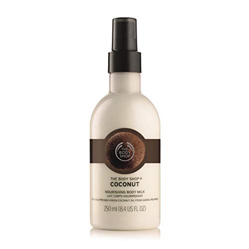 The Body Shop Coconut Nourishing Body Milk, Paraben-Free Body Lotion, 8.4 Fl. Oz.