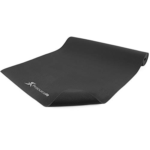 """ProsourceFit Classic Yoga Mat 1/8"""" (3mm) Thick, Extra Long 72-Inch Lightweight Fitness Mat with Non-Slip Grip for Yoga…"""