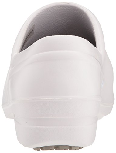 Easy Works Women's Kris Health Care Professional Shoe, White, 7 M US by Easy Works (Image #2)