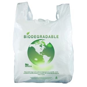 Biodegradable Plastic Bags Case of 1000 by Retail Resource