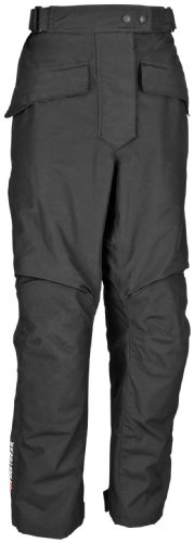 Firstgear Street Bike - FirstGear HT Overpants Shell Women's Textile Street Bike Motorcycle Pants - Black / Size 18
