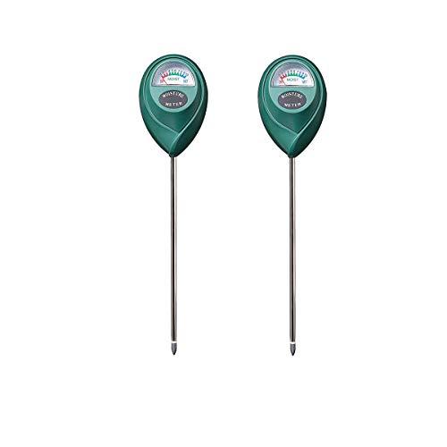 BeFirst Soil Tester Moisture Sensor Meter,Hygrometer Moisture Sensor for Garden, Farm, Lawn Plants Indoor & Outdoor(No Battery Needed) (2 Pack Round) ()