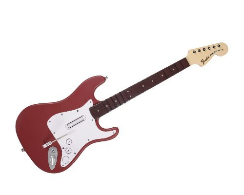 Catz Wii - Rock Band 3 - Wireless Fender Stratocaster Guitar Controller for Wii - Cherry by Mad Catz