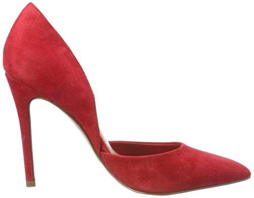 Madden Vertigo Punta Zapatos Pump Tacón de Steve Mujer Cerrada Rojo con para Red 03001 dgq5wE