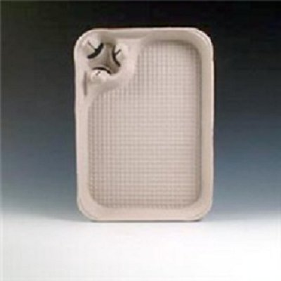 Molded Fiber Food / Seafood / Crawfish Tray 15 x 11 with Cup Carrier, CASE of 200, w/ FDL Party Picks