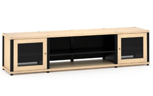 Salamander Designs SB248M/B Synergy Quad Model 248 Cabinet  - Maple with Black Posts (Quad Synergy)