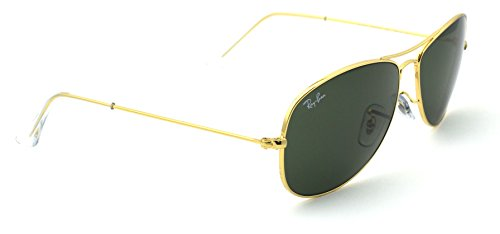 Ray-Ban RB3362 001 Cockpit Gold Frame / Green G-15 Lens ()