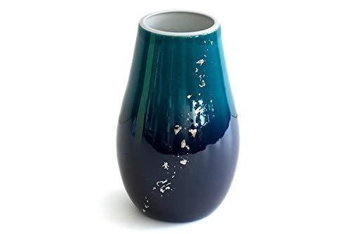 国産 花瓶 ■ パール仕上げ ■ 光明 7寸 ■ 下太 ■ 単品 ■ 花入れ 和風 モダン インテリア ■ サイズ約 (cm) 高さ22 口径7 胴張14 底径9 B07S5KXFF7