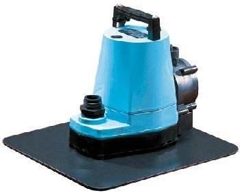 Little Giant 505600 1200 GPH Multi-Purpose Pump with Stabilizing Plate, Automati, Steel