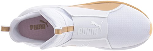 Women's Indoor Gold White Blanc Multisport Court Shoes Gold Fierce Puma EAq1ff