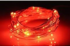 Philips 30 count Battery Operated Dew Drop Christmas Lights on Copper Wire