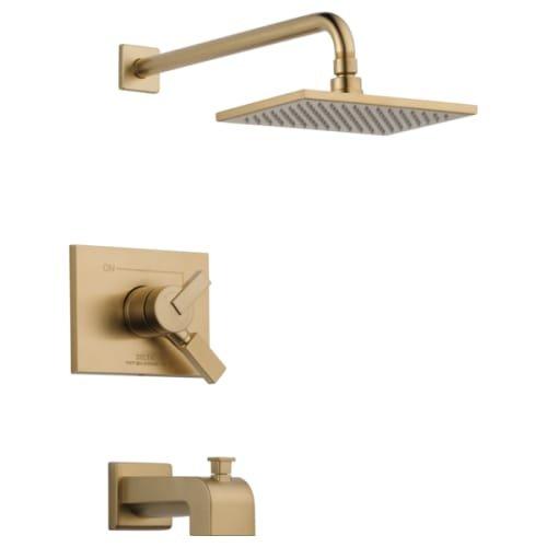 Delta Faucet T17453-CZ-WE Vero Monitor 17 Series Tub & Shower Trim, Champagne Bronze ()