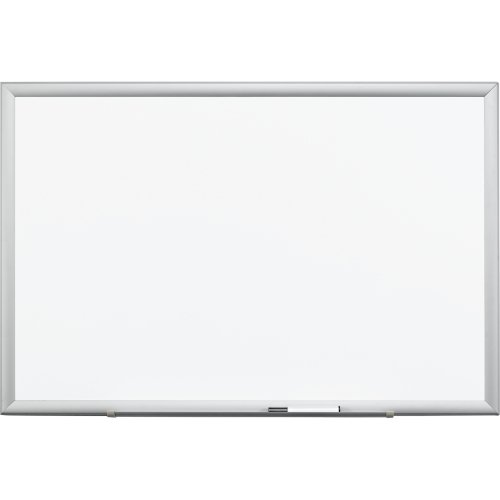 Wholesale CASE of 2 - 3M Post-it Premium Porcelain Marker Boards-Porcelain Marker Board, Steel Backed, 3'x2', Aluminum (Premium Board Porcelain Marker)