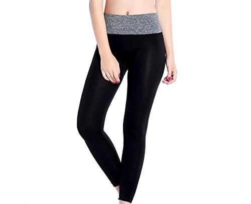 Comfy Tights (Clothin Women's Leggings High Waist/Compression/Slimming/Skin Tight Comfy Sport Pants Grey(one size))