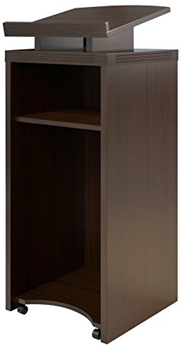 Safco Products ALCTLDC Aberdeen Lectern, Mocha Laminate