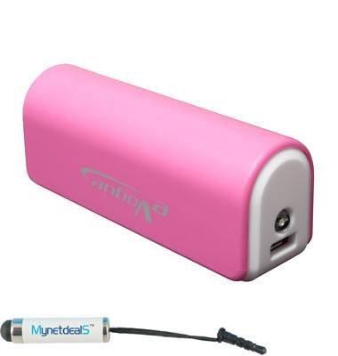 MyNetDeals Batería Externa portátil USB 3000 mAh para Huawei P8/Honor Holly/Ascend G620S/Y550/G7/Mate 7/G730/Y600/P7/Honor...