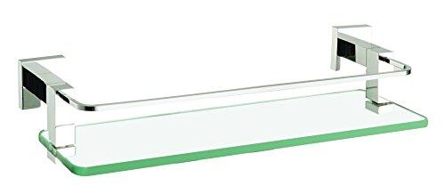 Porta Shampoo Quadra com Proteção 415 mm, Meber, 2052