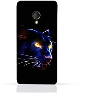 AMC Design Alcatel U5 HDTPU Silicone Protective case with Panther Eye Pattern