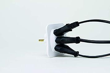 Kopp 174902005 Adapter 3 Fach Für Eurostecker Extra Flach Arktis Weiß 250 V Baumarkt
