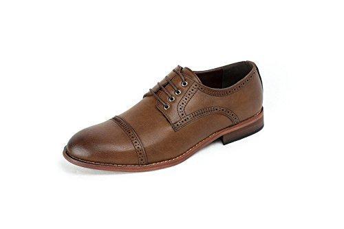 Ufficio Elegante Uk : Da uomo casual elegante oxford scarpe moda coi lacci formale ufficio