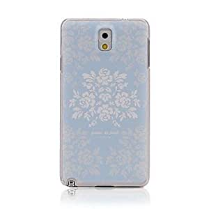 Ultrathin Embossed Blue Rose Protective Case for Samsung Galaxy S5 I9600
