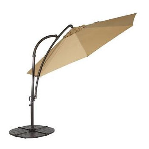 Garden Winds Solar 11 Ft Offset Umbrella Replacement Canopy