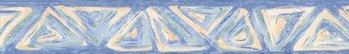 Selbstklebende Tapetenbordüre 3552-01 blau