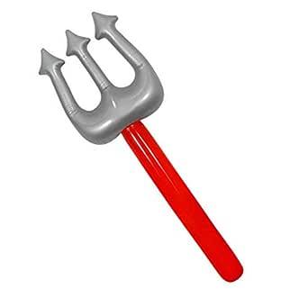 Parches Inflable para inflar Tenedor de Diablo, Juguete de ...
