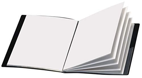 Office Depot Brand Custom Showfile Display Books, 24 Pockets, Black ()