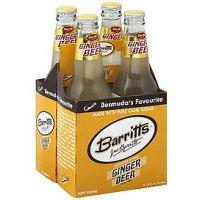 Ginger Bermuda Beer - Barritts Regular Ginger Beer, 12 Fluid Ounce - 4 per pack - 6 packs per case.