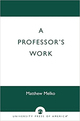 A Professor's Work