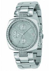 Dkny Mother Of Pearl Dial Watch - DKNY Crystal Collection Silver Mother-of-pearl Dial Women's watch #NY4907