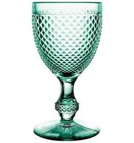 Vista Alegre Bicos Set of 4 Water Goblets Green Mint