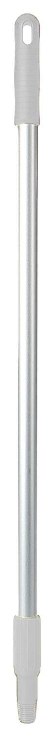 FBK 80203 –  1 Aluminium Handle for Dustpan Collapsible, 800 x 25 mm, White 800x 25mm 80203-1