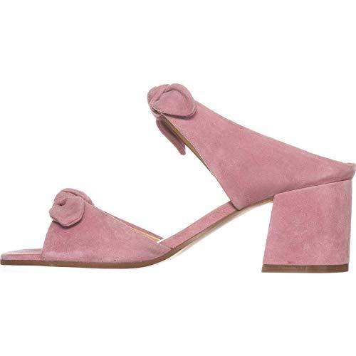 Medium Pink Suede Ivanka Trump Womens Eria Heeled Sandal