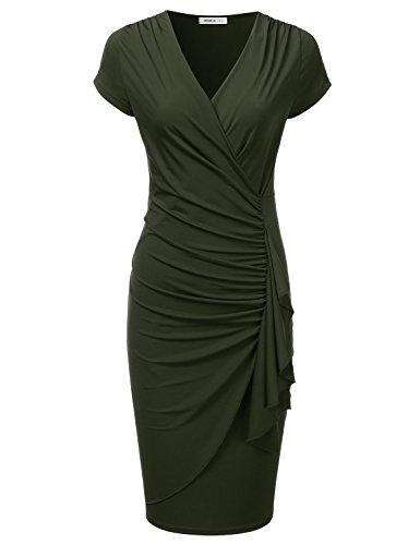 olive dresses - 4