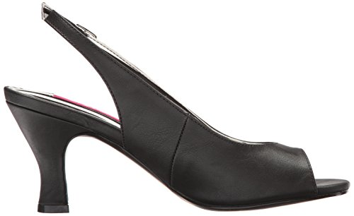 Scarpe R Blk Faux Leather con Pleaser Donna Cinturino Jenna02 Nero Red Pat wqZtIZ