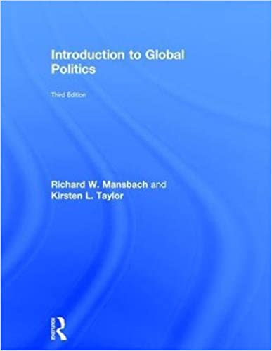 INTRODUCTION TO GLOBAL POLITICS MANSBACH PDF