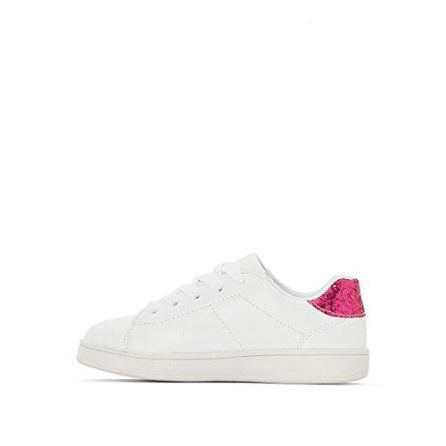 La Redoute Collections Mdchen Flache Sneakers, geblumt Gre 31 Grau