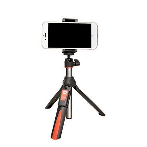 Benro MK10 Selfie Stick Tripod Bluetooth 3.0 Stainless Steel Adjustable Selfie Monopod for iOS/Android