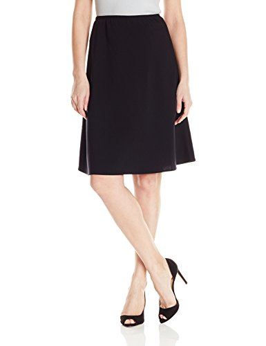 Briggs New York Women's Bistretch Flippy Skirt, Black, Medium - Briggs New York