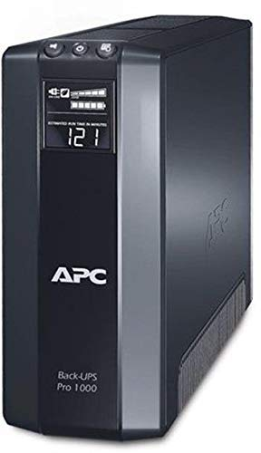 APC BR1000G Battery Back-UPS Pro System Computer Surge Protector (Apc Back Ups Pro 500 Replacement Battery)