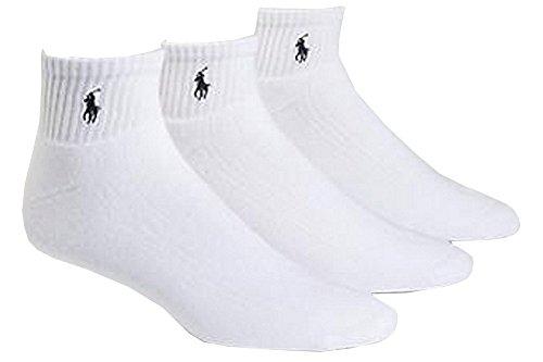 Polo Ralph Lauren Big & Tall Men's Classic 3-Pair White (Socks Size - Lauren Shoes Ralph Golf