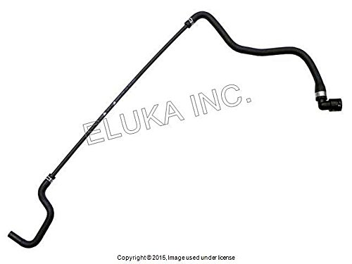 (BMW Genuine Coolant Water Hose - From Expansion Tank (Upper Fitting) 550i 550i 650i 650i 650i 650i)